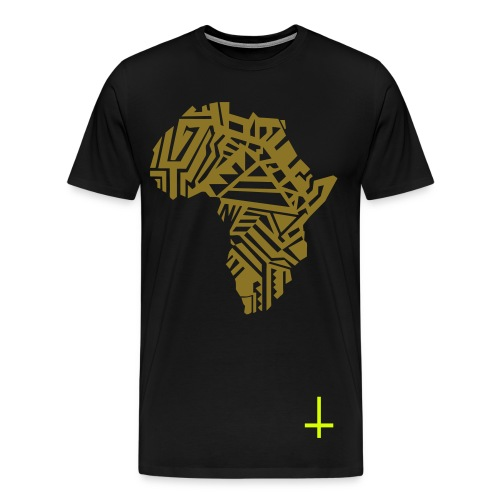 Africa-Gold - Men's Premium T-Shirt