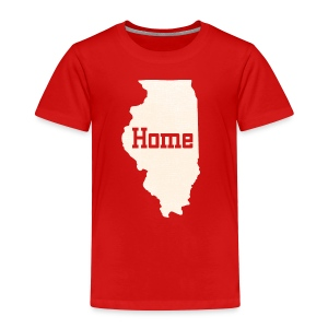 Illinois Home - Toddler Premium T-Shirt