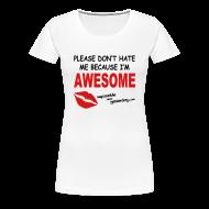Women's T-Shirts ~ Women's Premium T-Shirt ~ Because I'm Awesome