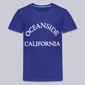 Oceanside California - Kids' Premium T-Shirt