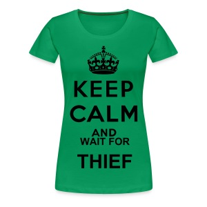 Thief- Plus Size  - Women's Premium T-Shirt