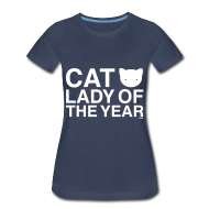 T-Shirts ~ Women's Premium T-Shirt ~ Cat Lady of the Year