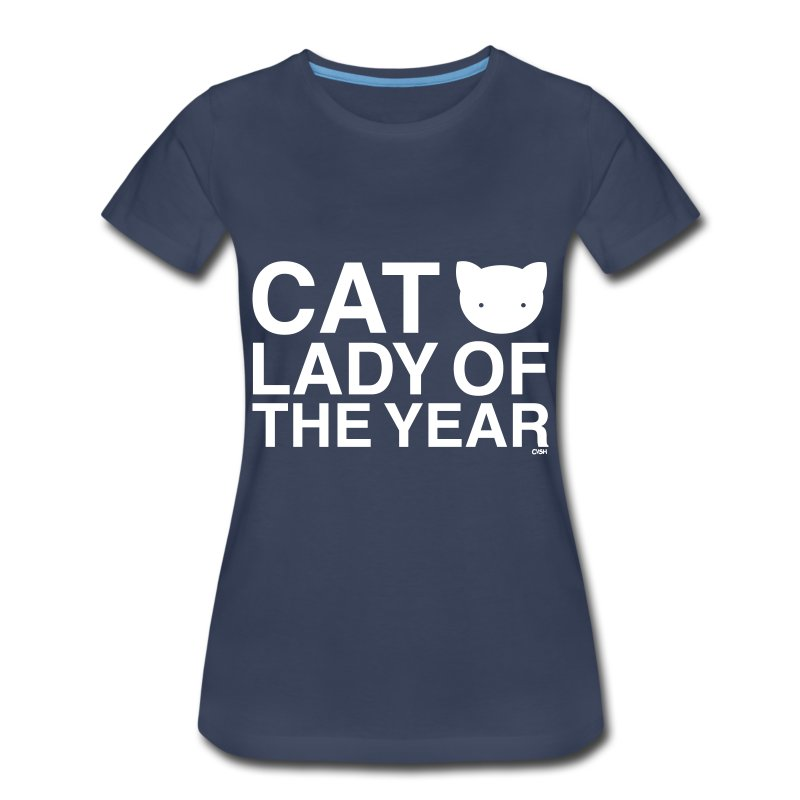 Cat Lady of the Year - Women's Premium T-Shirt