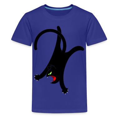 NINJA CAT 2 Kids' Shirts