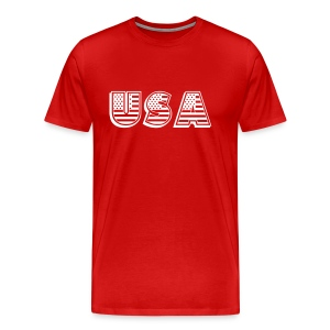 United States of America USA EEUU - Men's Premium T-Shirt