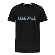 T-Shirts ~ Men's Premium T-Shirt ~ MEPiC! Metallic Chrome (Heavy Duty)