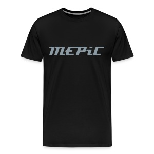 MEPiC! Metallic Chrome (Heavy Duty) - Men's Premium T-Shirt