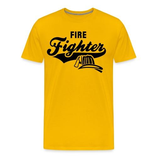firefighter shirt - Men's Premium T-Shirt