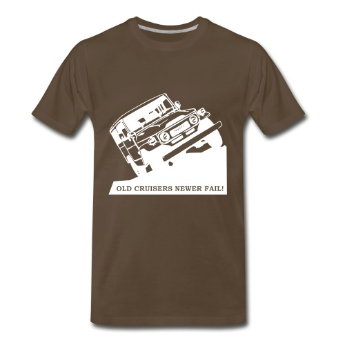 Fj negative color - Men's Premium T-Shirt