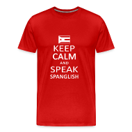 T-Shirts ~ Men's Premium T-Shirt ~ Spanglish