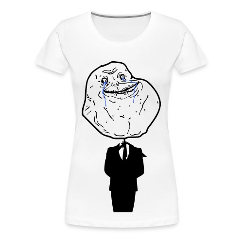 Forever at work[F] - Women's Premium T-Shirt