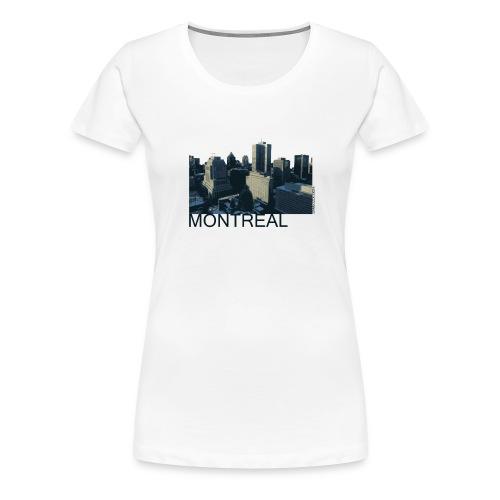 Montreal city - Women's Premium T-Shirt