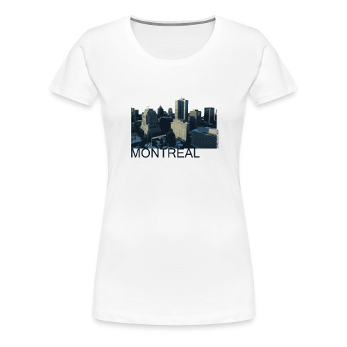 Montreal city - Women's Premium T-Shirt