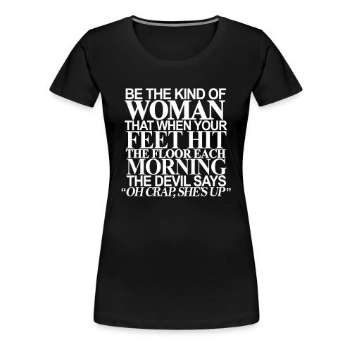 Model Woman - Women's Premium T-Shirt