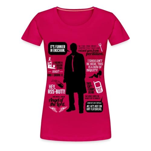 Castiel quotes [DESIGN BY AVIA] - Women's Premium T-Shirt