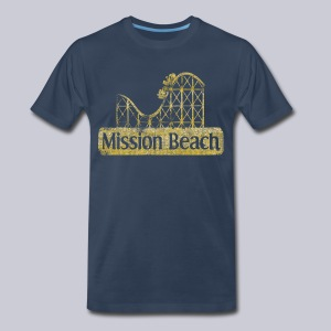 Vintage Mission Beach - Men's Premium T-Shirt