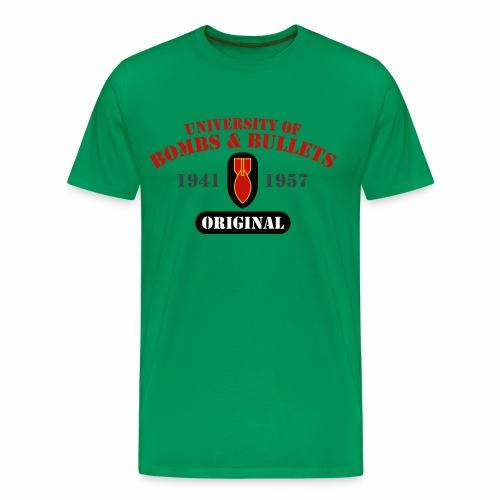 University of Bombs & Bullets - Men's Premium T-Shirt