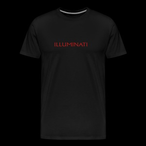 Illuminati Trademark T Shirt - Men's Premium T-Shirt