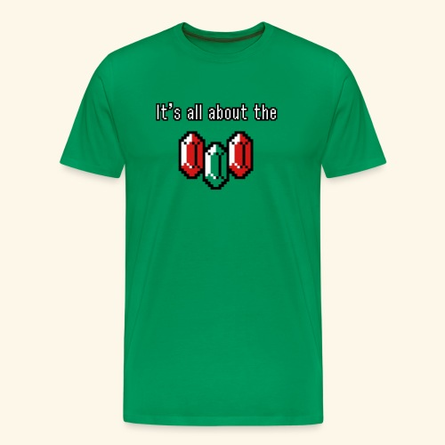 It's all about the rupees - Men's Premium T-Shirt