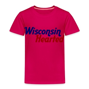 Wisconsin Hearted - Toddler Premium T-Shirt