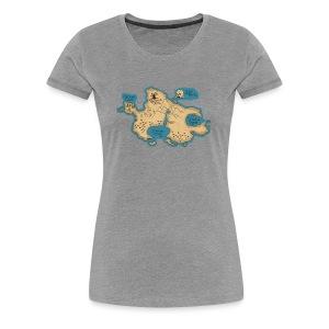 Women's Neverland - Women's Premium T-Shirt