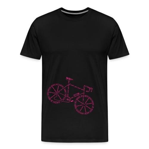 Action Bicycle - Men's Premium T-Shirt
