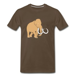 animal t-shirt mammoth elephant tusk ice age mammut - Men's Premium T-Shirt