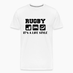 Eat Sleep Play Rugby T-Shirt