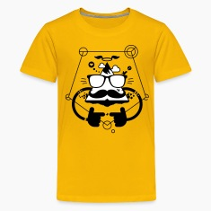 Hipster be cool 2.2c Kids' Shirts