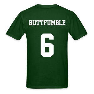 BUTTFUMBLE6 (See the cartoon on the front) - Men's T-Shirt