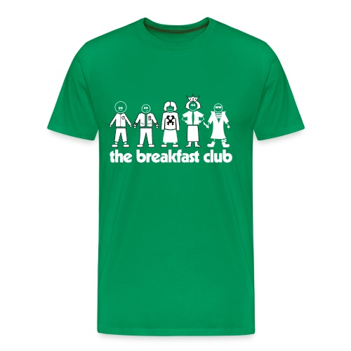 Breakfast Club 3XL/4XL - Men's Premium T-Shirt
