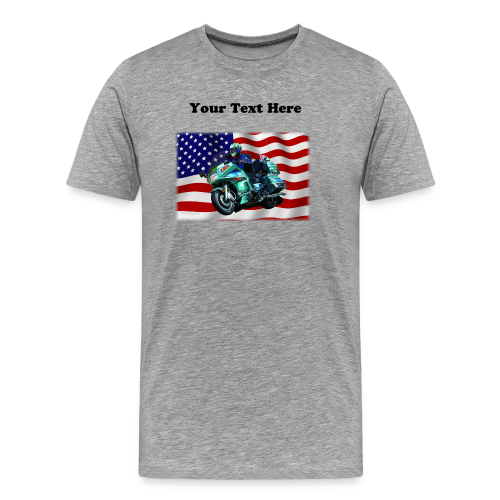 Men's Premium T Front FlagVoy Custom - Men's Premium T-Shirt