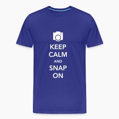 Keep Calm and Snap On T-Shirts