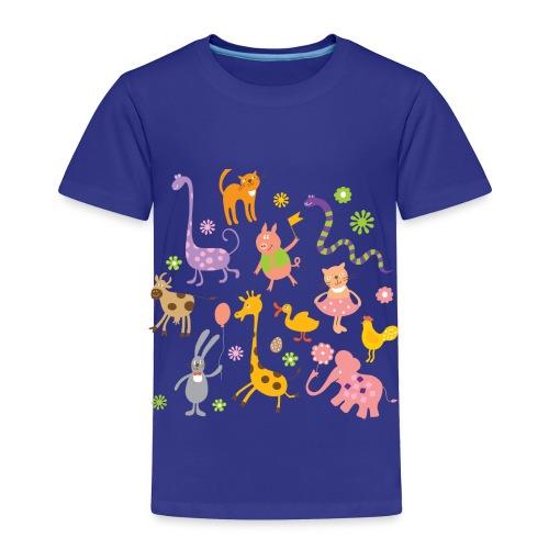 funny animals - Toddler Premium T-Shirt
