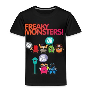 freaky monsters - Toddler Premium T-Shirt