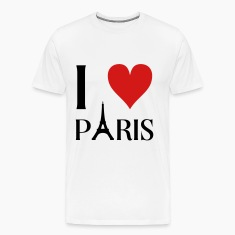 I love Paris T-Shirts