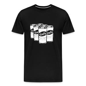 Men's Black Apathy T-shirt - Men's Premium T-Shirt