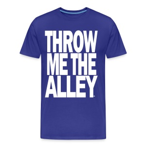 Throw me the alley™ - Men's Premium T-Shirt