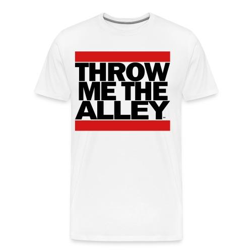 Throw me the alley™ (Run DMC)  - Men's Premium T-Shirt