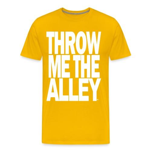 Throw me the alley™ - Men's Premium T-Shirt