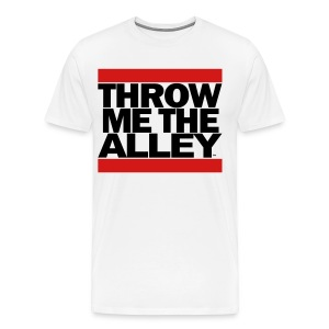 Throw me the alley™ (Run DMC)  - Men's Premium T-Shirt