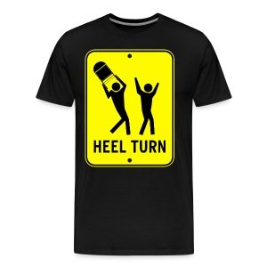 Heel Turn (Men, 3XL-4XL) - Men's Premium T-Shirt
