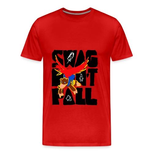 Swag Don't Fall Tee   Llama & Alpaca - Men's Premium T-Shirt