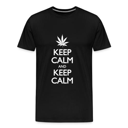 Keep Calm and keep Calm - Men's Premium T-Shirt
