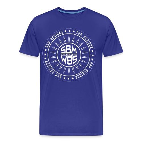 SBM Designs 3XL & 4XL - Men's Premium T-Shirt