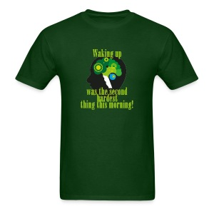Waking Up - Men's T-Shirt