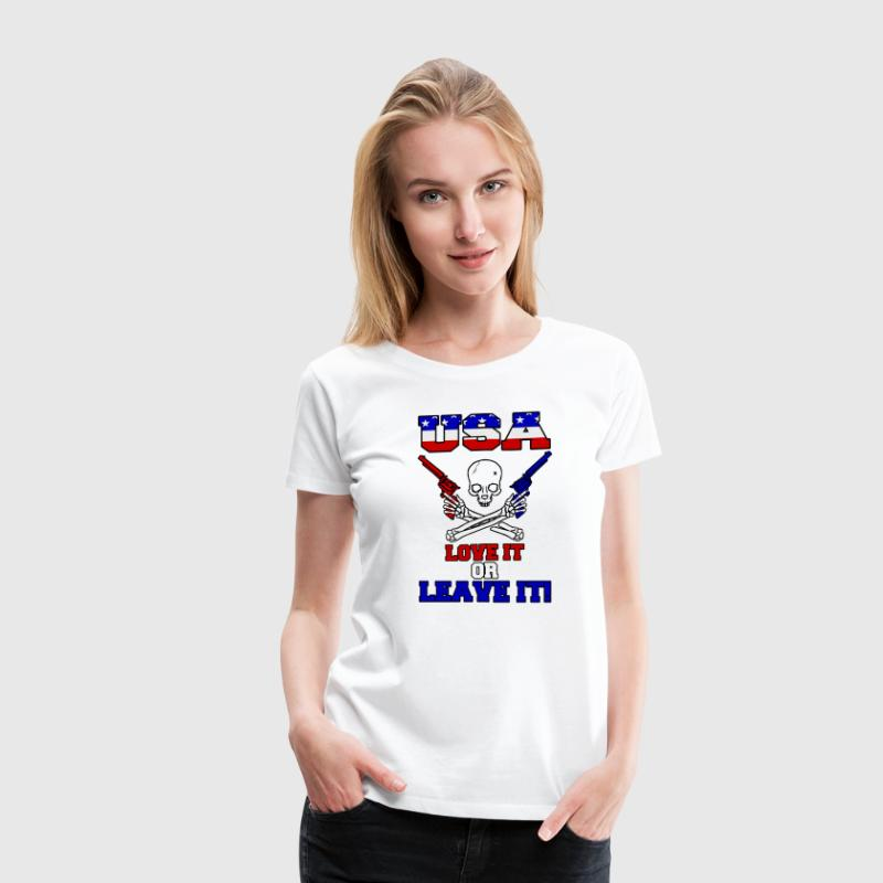 USA - Love It or Leave It Women's T-Shirts - Women's Premium T-Shirt
