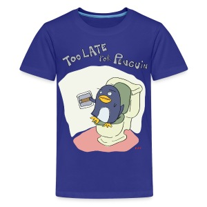 Kids' Tee | Too Late for Penguin - Kids' Premium T-Shirt