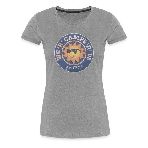 CRU Round Badge - Women's Premium T-Shirt