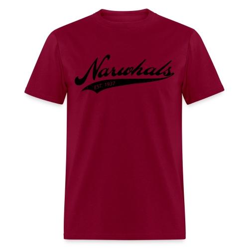 Narwhal Script - Men's T-Shirt